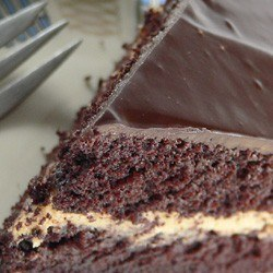 Rezept Schokoladentorte mit Erdnussbuttercreme