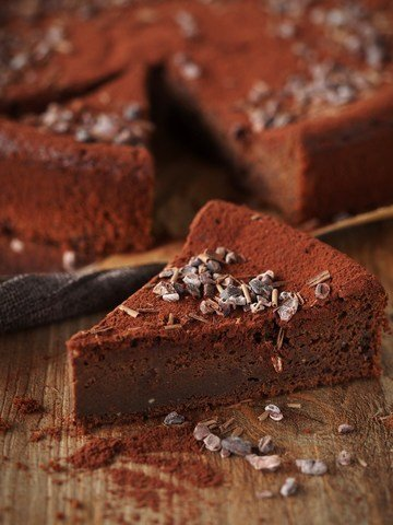 Rezept Schokoladentrüffel-Kuchen