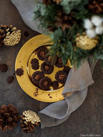 Rezept Schokoladige Hildabrötchen mit Nougat