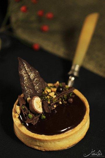 Rezept Schokoladige Nuss-Tartelettes