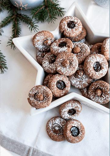 Rezept Schokoli mit Haselnuss oder Marmelade