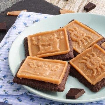 Rezept Schokoshortbread mit Sahnekaramell