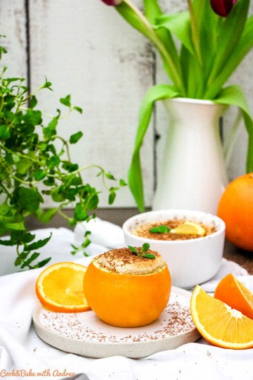 Rezept Schokosoufflé mit Orange