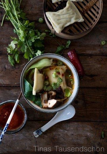 Rezept Schwäbische Wan Tan Suppe