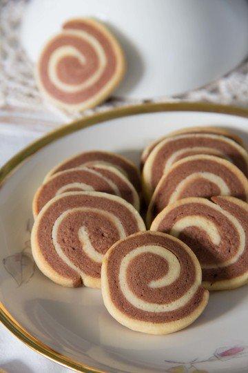 Rezept Schwarz-weiße Kekse