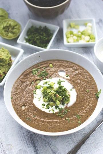 Rezept Schwarze Bohnensuppe