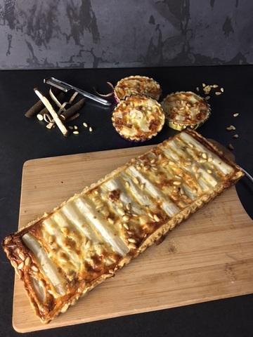 Rezept Schwarzwurzel-Tarte mit Roquefort