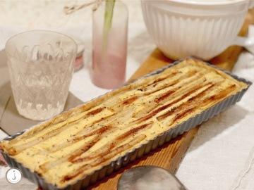 Rezept Schwarzwurzel-Tarte mit Ziegenfrischkäse
