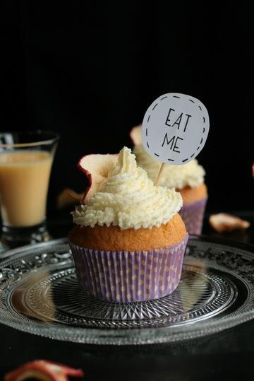 Rezept Schweden-Cupcakes mit Apfelmus und Eierlikör