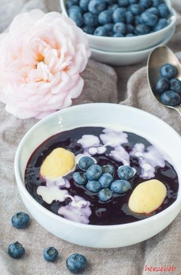 Rezept Schwedische Blaubeersuppe