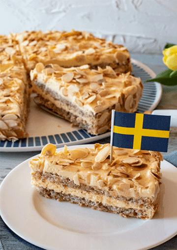 Rezept Schwedische Mandeltorte