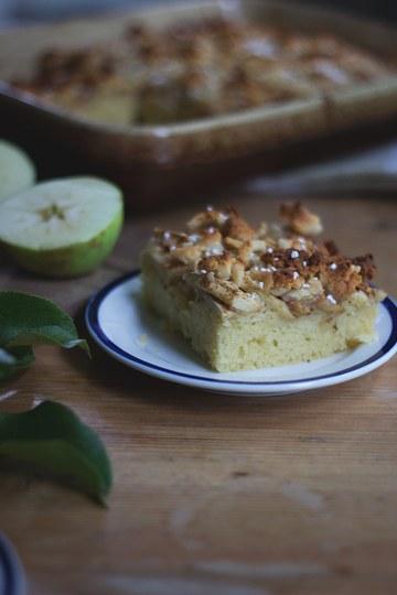 Rezept Schwedischer Apfelkuchen vom Blech