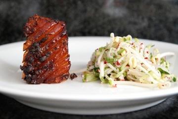 Rezept Schweinebauch mit asiatischem Salat