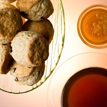 Rezept Scones, Orangenmarmelade & mein Earl Grey