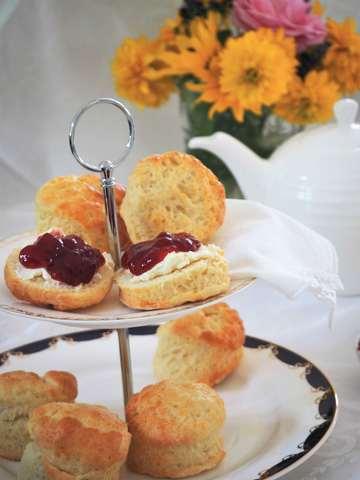 Rezept Scones und Clotted Cream