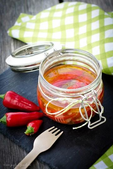 Rezept Selbst eingelegte Peperoni – richtig lecker & schnell