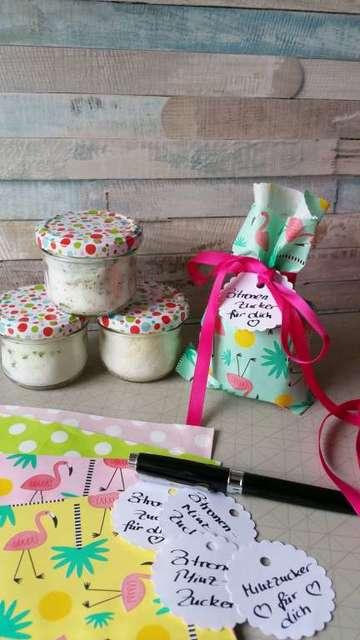 Rezept selbst gemachte Geschenke: aromatisierter Zucker