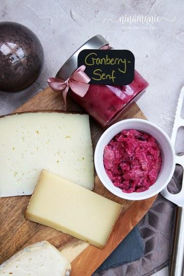 Rezept selbst gemachter Cranberry-Senf