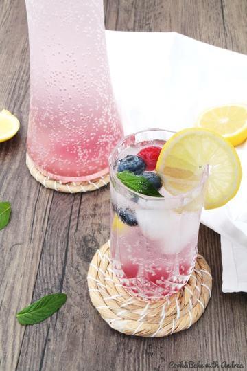 Rezept Selbstgemachte Beerenlimonade
