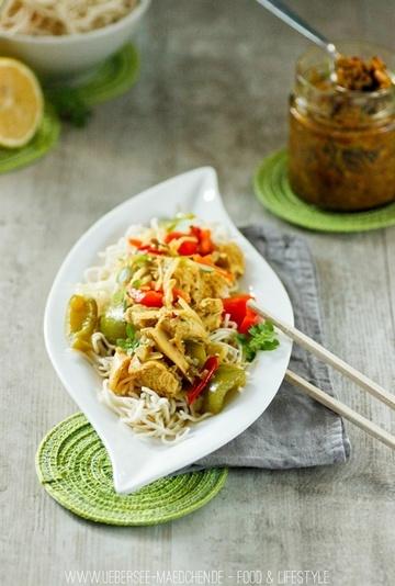 Rezept Selbstgemachte gelbe Currypaste