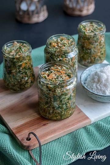 Rezept Selbstgemachte Gemüsepaste