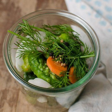 Rezept Selbstgemachte Gewürzgurken im Glas