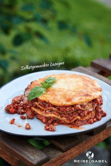 Rezept Selbstgemachte Lasagne