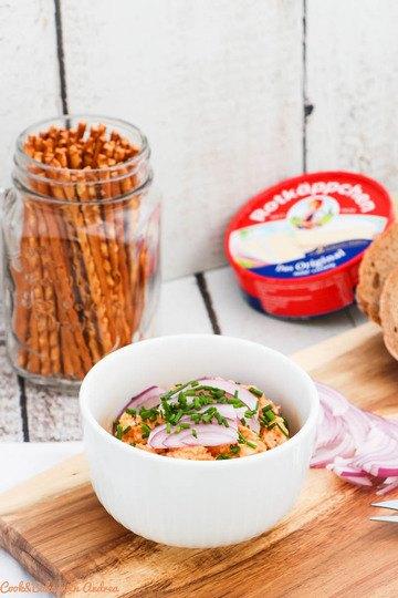 Rezept Selbstgemachter Obazda – bayerische Brotzeit