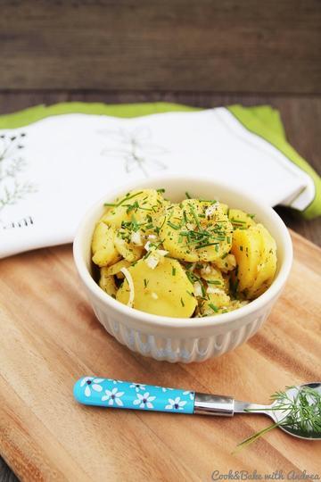 Rezept Selbstgemachter Pellkartoffelsalat