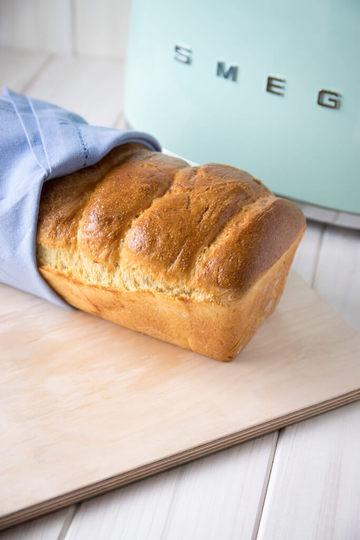 Rezept Selbstgemachtes Brioche Toastbrot zum Frühstück