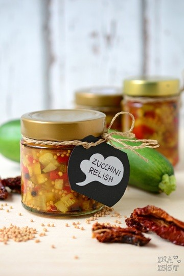 Rezept Selbstgemachtes Zucchini Relish