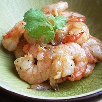 Rezept Sesam-Knoblauch-Shrimps