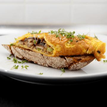 Rezept Shiitake-Omelett
