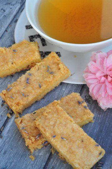 Rezept Shortbread mit feinem Lavendelaroma