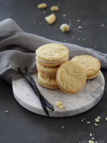 Rezept Shortbread mit Ricotta-Creme und Vanille
