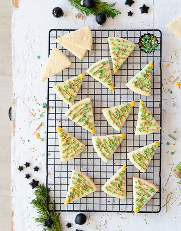 Rezept simple Tannenbaum Kekse