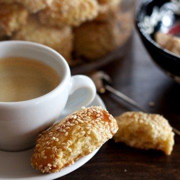 Rezept Sizilianische Sesam Kekse