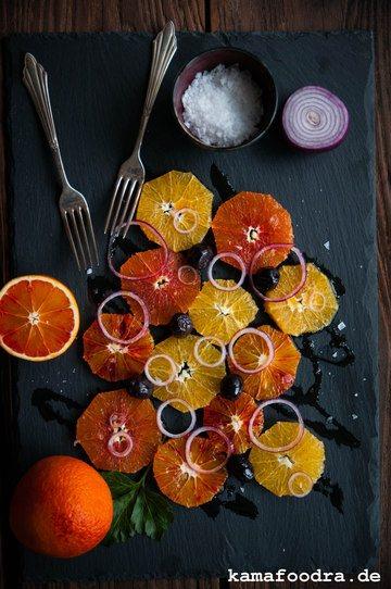 Rezept Sizilianischer Orangensalat
