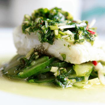 Rezept Skrei mit Chimichurri-Marinade
