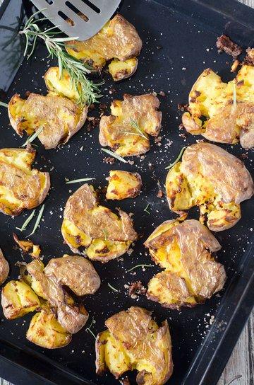 Rezept Smashed potatoes