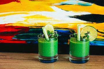 Rezept Smoothie Rezept - Grüner Smoothie - Exotisch und frisch