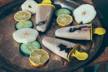 Rezept Smoothies-Eis zum Frühstück