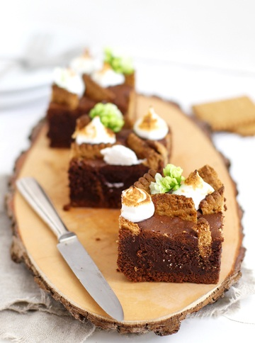 Rezept S'mores Brownies