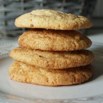 Rezept Snickerdoodles - Zimt & Zucker Cookies
