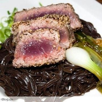 Rezept Sobanudeln mit Knusper-Thunfisch