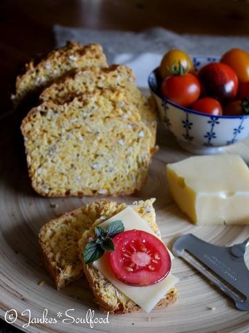 Rezept soda bread mit Möhren