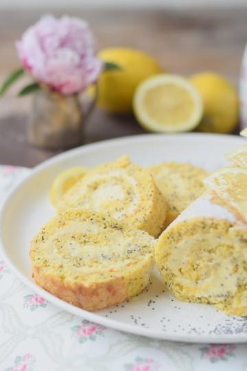 Rezept Sommer pur: Zitronen Poppy Seed Rolle