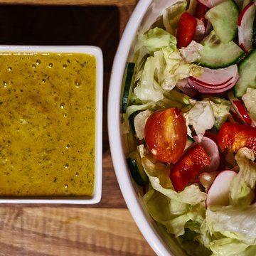 Rezept Sommer Salat Dressing in 5 Minuten