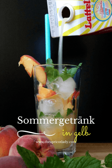 Rezept Sommergetränk in gelb