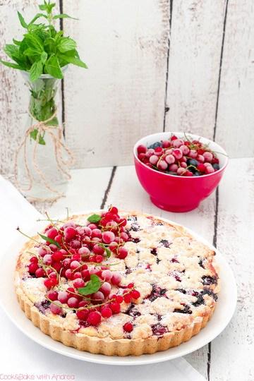 Rezept Sommerliche Beerentarte mit Frischkäse